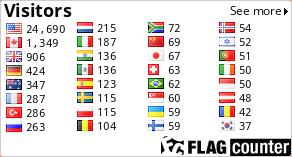 http://s05.flagcounter.com/count/owUm/bg=FFFFFF/txt=050505/border=CCCCCC/columns=4/maxflags=32/viewers=0/labels=0/